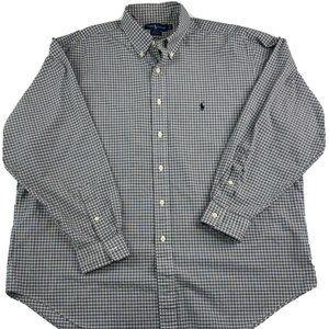 Ralph Lauren Yarmouth Button Down Shirt 17.5-35